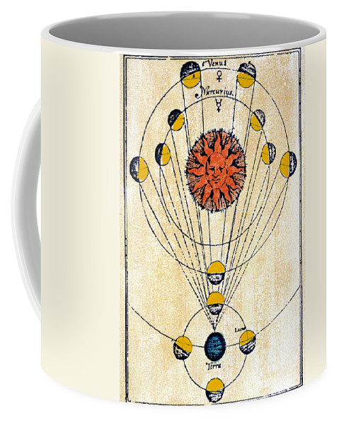 1643 Coffee Mug featuring the photograph Moon Phases by Granger