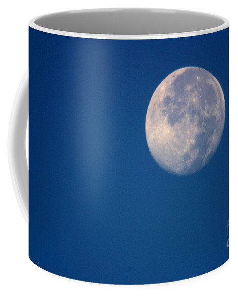 Moon Coffee Mug featuring the photograph Moon1928 by Gary Gingrich Galleries