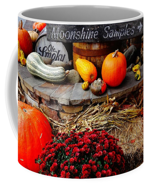 Moonshine Coffee Mug featuring the photograph Moonshine by Dan Sproul