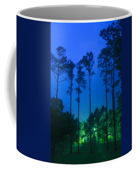 Trees Coffee Mug featuring the photograph Morning Colors by Paula OMalley