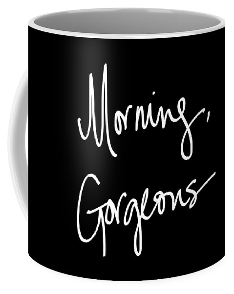 Morning Coffee Mug featuring the digital art Morning Gorgeous by South Social Studio