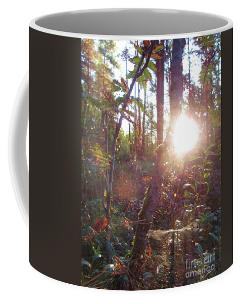 Morning Has Broken Coffee Mug featuring the photograph Morning Has Broken by Martin Howard