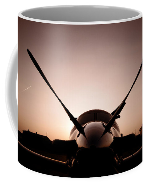 Aviation Coffee Mug featuring the photograph Morning Mercy by Paul Job