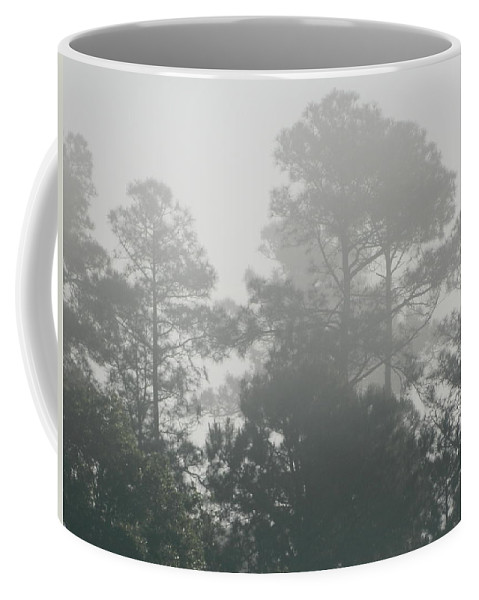 Morning Coffee Mug featuring the photograph Morning Mist 3 by George Pedro