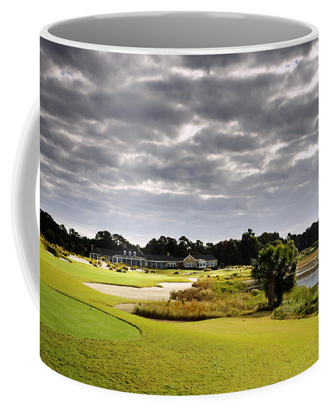Beaufort County Coffee Mug featuring the photograph Morning On 18 by Phill Doherty