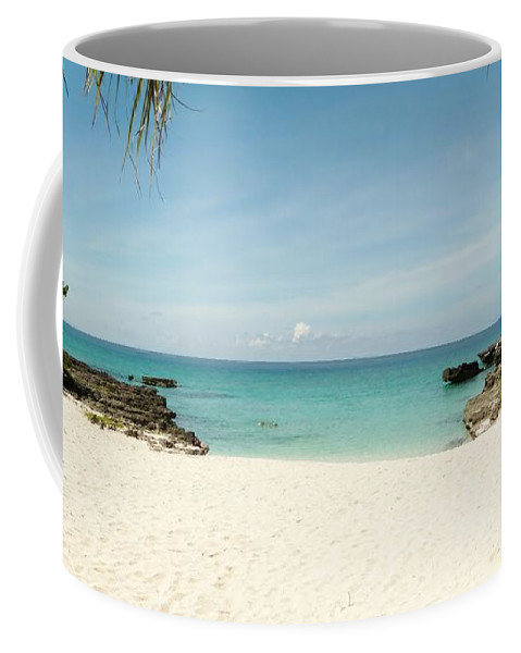Color Coffee Mug featuring the photograph Morning Swim by Amar Sheow