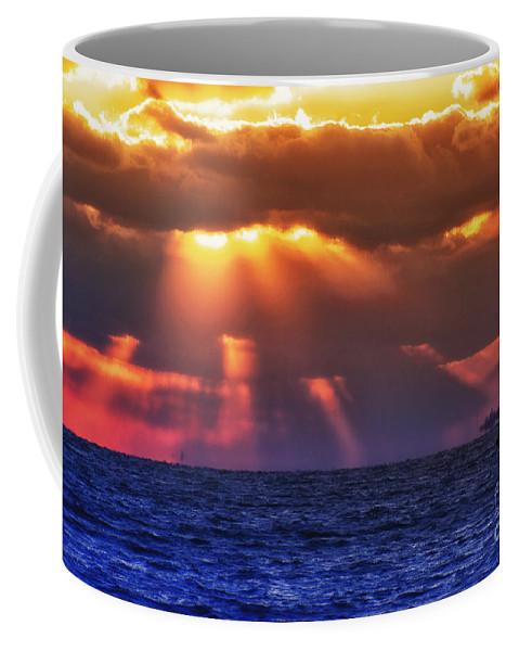 Sun Coffee Mug featuring the photograph Mostly Cloudy by Joe Geraci