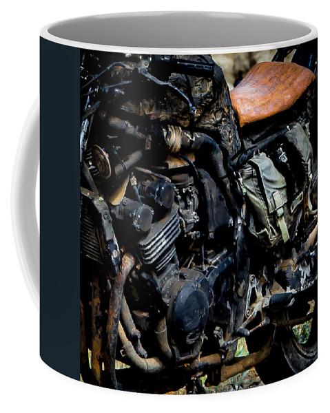 Motorbike Coffee Mug featuring the photograph Motorbike by Edgar Laureano