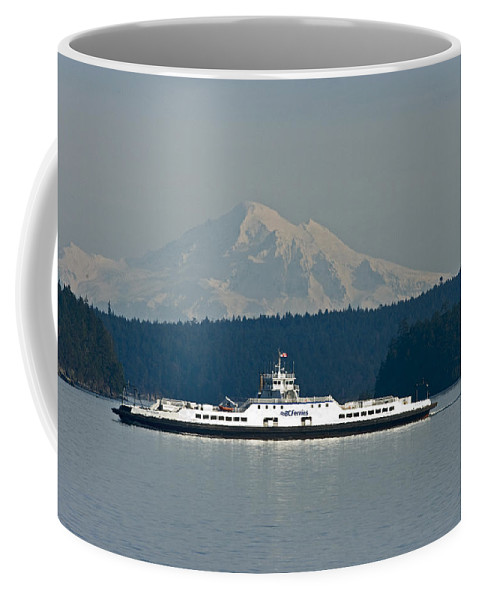 Mount Baker Coffee Mug featuring the photograph Mount Baker by Rob Mclean