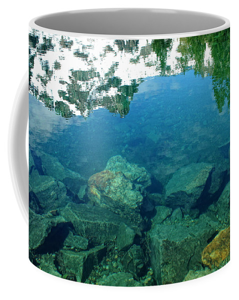 Lake Coffee Mug featuring the photograph Mountain Lagoon by Donna Blackhall