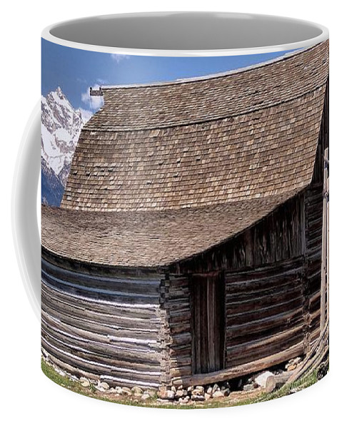 Mountain Living Coffee Mug featuring the photograph Mountain Living by Dan Sproul