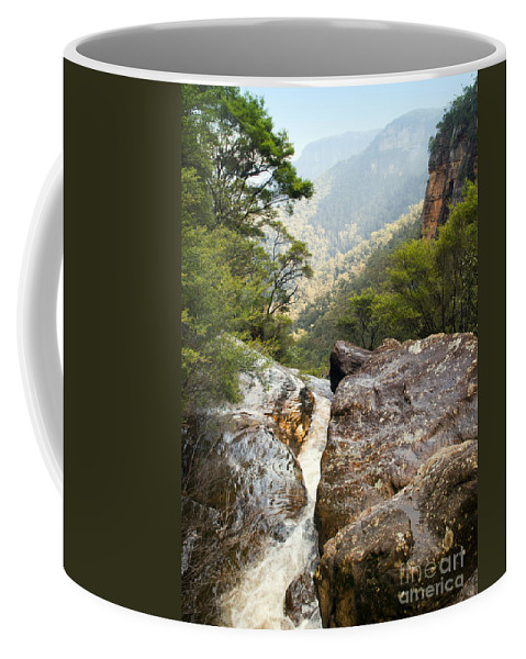 Australia Coffee Mug featuring the photograph Mountain River by Tim Hester