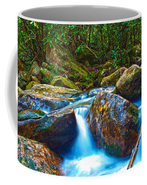 View Coffee Mug featuring the photograph Mountain Streams by Alex Grichenko