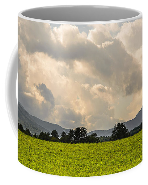 Landscape Coffee Mug featuring the photograph Mountain Weather by Robert Mitchell
