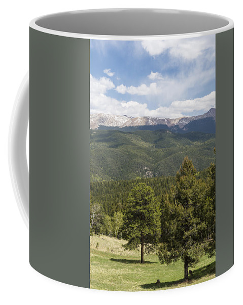 Mueller Coffee Mug featuring the photograph Mountains Co Mueller Sp 2 by John Brueske