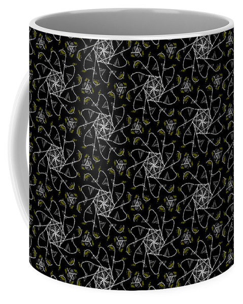 Mourning Weave Coffee Mug featuring the digital art Mourning Weave by Elizabeth McTaggart