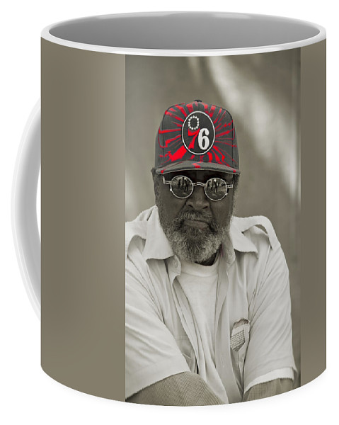Germantown Coffee Mug featuring the photograph Mr. Samuel by Alice Gipson