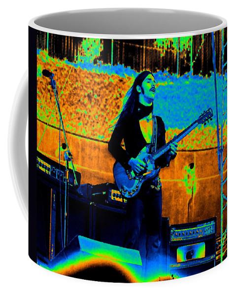 Frank Marino Coffee Mug featuring the photograph Mrdog #24 In Cosmicolors by Ben Upham