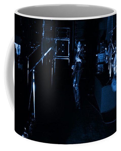 Mahogany Rush Coffee Mug featuring the photograph Mrush #34 In Blue by Ben Upham