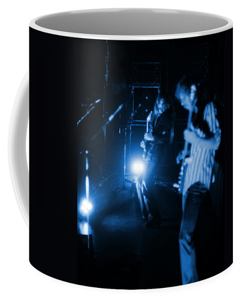 Mahogany Rush Coffee Mug featuring the photograph Mrush #35 In Blue by Ben Upham