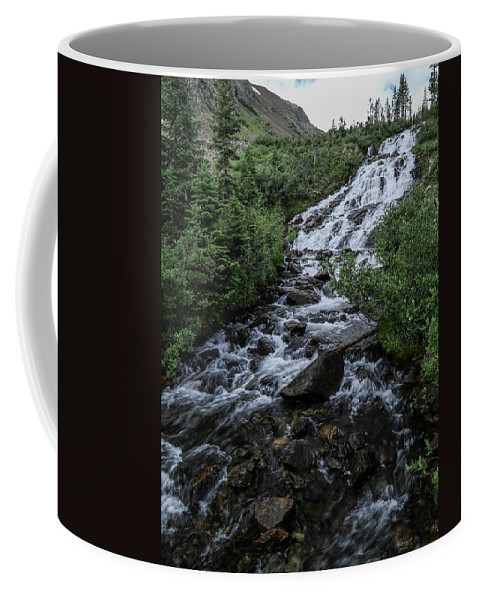 Mountain Coffee Mug featuring the photograph Mtn Steam by Kevin Buffington