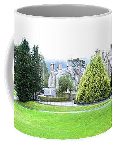 Muckross Castle Coffee Mug featuring the photograph Muckross Castle by Charlie Brock