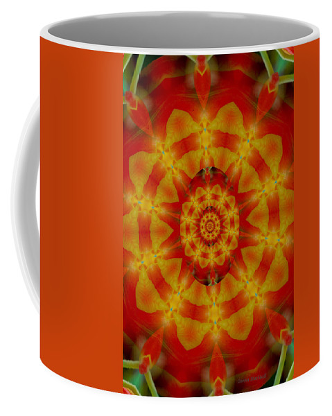 Digital Coffee Mug featuring the digital art Multitasking by Donna Blackhall