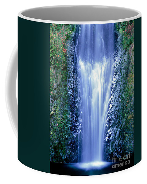 North America Coffee Mug featuring the photograph Multnomah Falls Columbia River Gorge Oregon by Dave Welling
