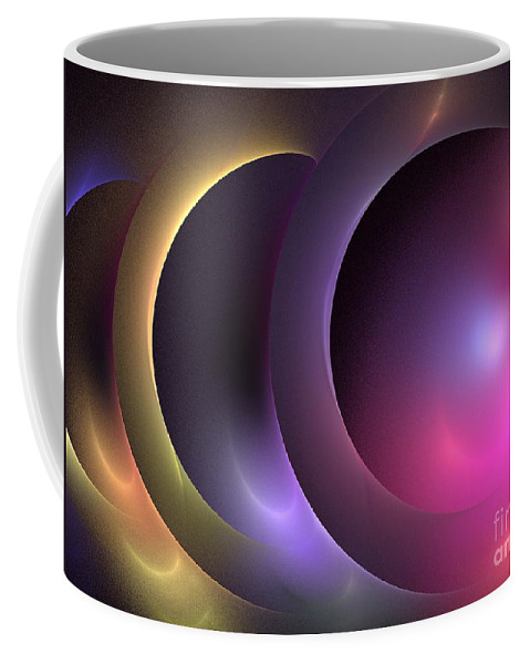 Apophysis Coffee Mug featuring the digital art Music Of The Spheres by Kim Sy Ok