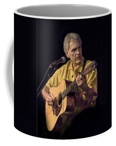 Art Coffee Mug featuring the photograph Musician And Songwriter Verlon Thompson by Randall Nyhof