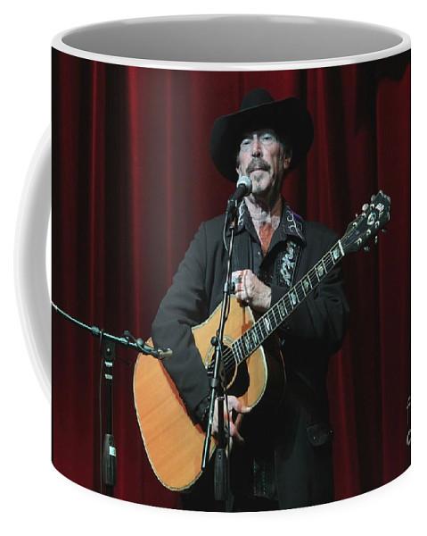 Texas Coffee Mug featuring the photograph Musician Kinky Friedman by Concert Photos