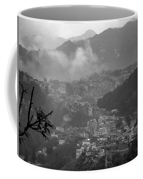 Wallpaper Buy Art Print Phone Case T-shirt Beautiful Duvet Case Pillow Tote Bags Shower Curtain Greeting Cards Mobile Phone Apple Android Nature India Hill Station Mussoorie Himalayas Salman Ravish Khan Coffee Mug featuring the photograph Mussoorie by Salman Ravish