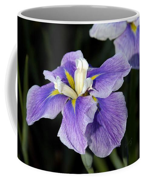 Flowers Coffee Mug featuring the photograph My Iris II by Penny Lisowski