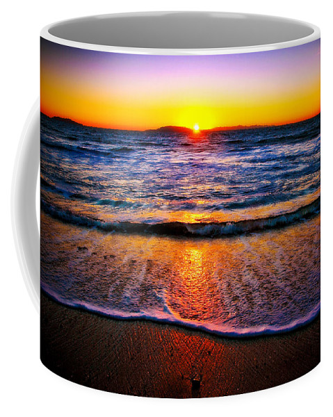 Beach Coffee Mug featuring the photograph My Peaceful Place by Eric Benjamin
