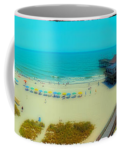 Beach Coffee Mug featuring the photograph Myrtle Beach South Carolina by Alex Grichenko