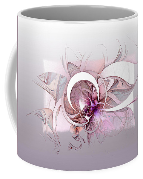 Digital Art Coffee Mug featuring the digital art Mysterious II by Amanda Moore