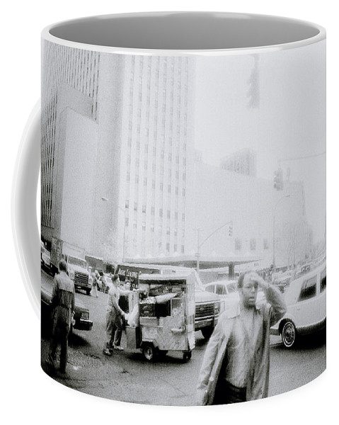 New York Coffee Mug featuring the photograph Mysterious New York by Shaun Higson