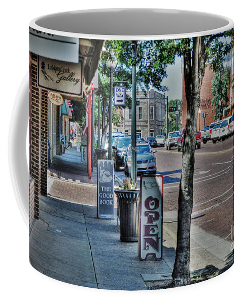 Nacogdoches Coffee Mug featuring the photograph Nacogdoches by Savannah Gibbs
