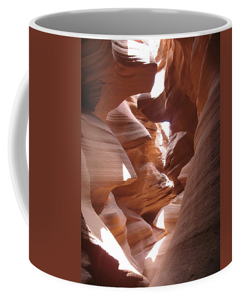 Canyon Coffee Mug featuring the photograph Narrow Canyon I by Christiane Schulze Art And Photography