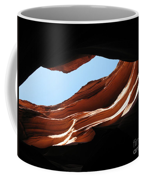Canyon Coffee Mug featuring the photograph Narrow Canyon Vi by Christiane Schulze Art And Photography