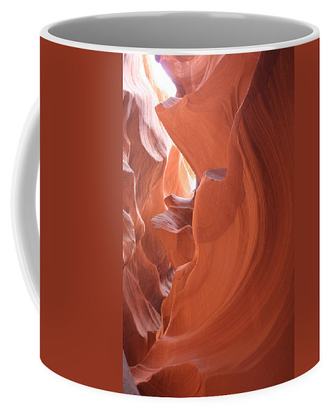 Canyon Coffee Mug featuring the photograph Narrow Canyon XI by Christiane Schulze Art And Photography