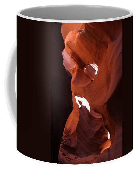 Canyon Coffee Mug featuring the photograph Narrow Canyon Xiv by Christiane Schulze Art And Photography
