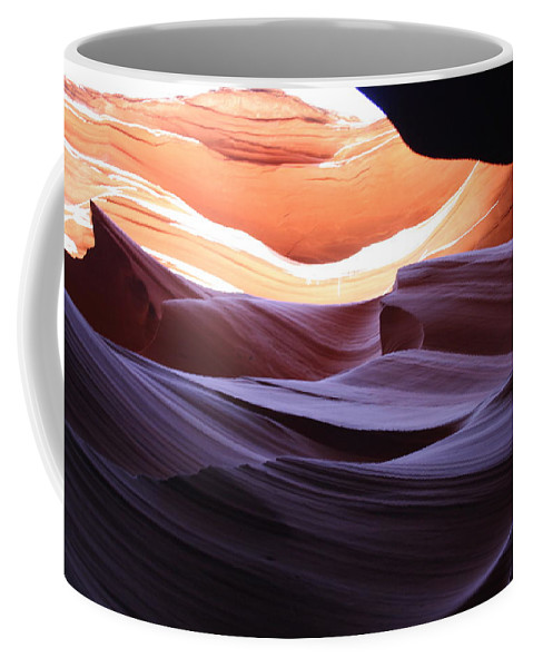 Canyon Coffee Mug featuring the photograph Narrow Canyon Xviii by Christiane Schulze Art And Photography