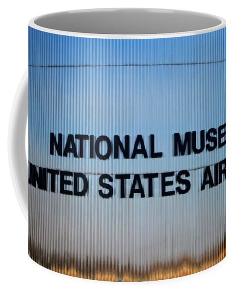 National Museum United States Air Force Coffee Mug featuring the photograph National Museum United States Air Force by Dan Sproul