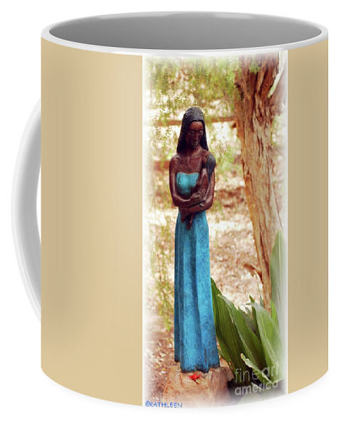 Native Coffee Mug featuring the photograph Native American Statue by Kathleen Struckle