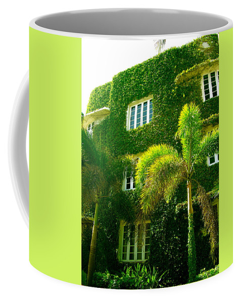 Ivy Prints Coffee Mug featuring the photograph Natural Ivy House by Monique's Fine Art