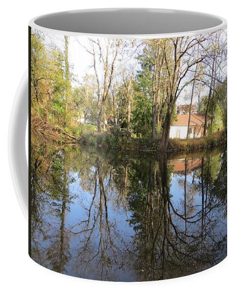 Reflection Coffee Mug featuring the photograph Natural Mirror by Sonali Gangane