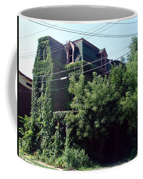 House Coffee Mug featuring the photograph Nature Reclaims by Eric Swan