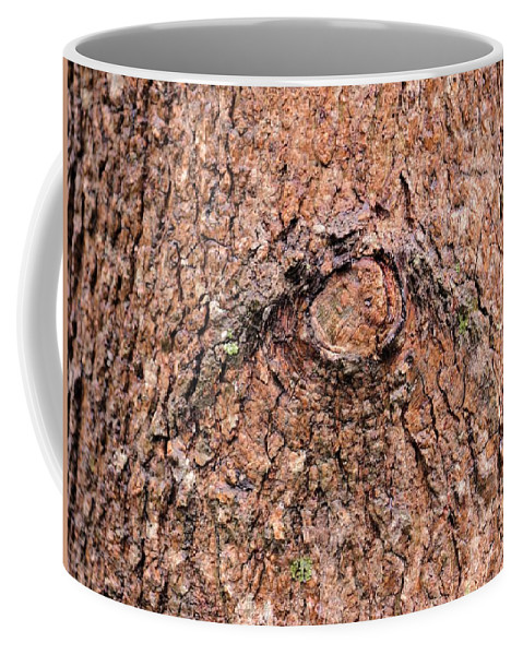Nature's Abstract Eye Coffee Mug featuring the photograph Nature's Abstract Eye by Maria Urso