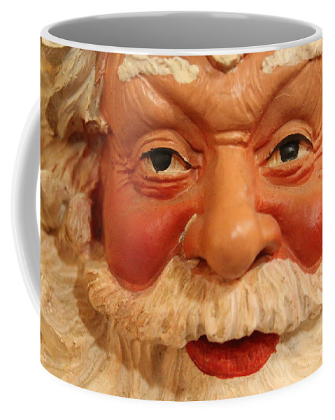 Santa Coffee Mug featuring the photograph Naughty Or Nice by Lynn Sprowl